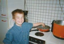 klein rost ventje koken